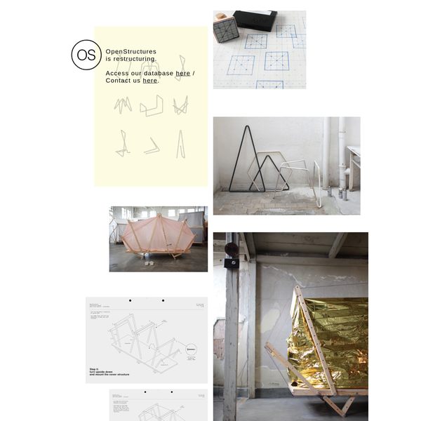 The OS (OpenStructures) project explores the possibility of a modular construction model where everyone designs for everyone on the basis of one shared geometrical grid.