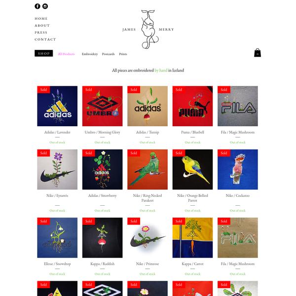 website of james merry