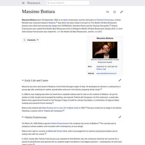 Massimo Bottura - Wikipedia