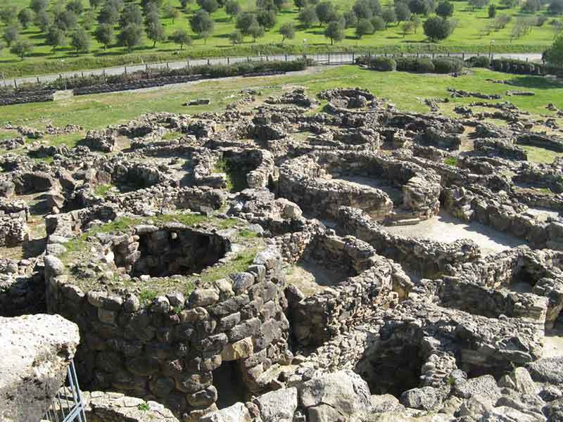 """(Late Bronze Age, Italy) Su Nuraxi simply means """"The Nuraghe"""" in Campidanese."""