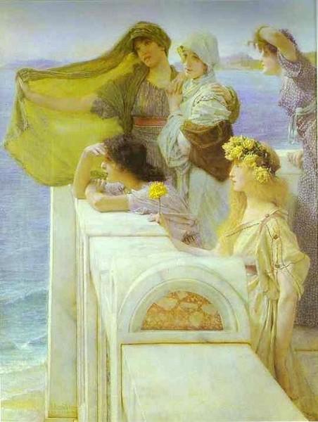 """At Aphrodite's Cradle"" 1908"