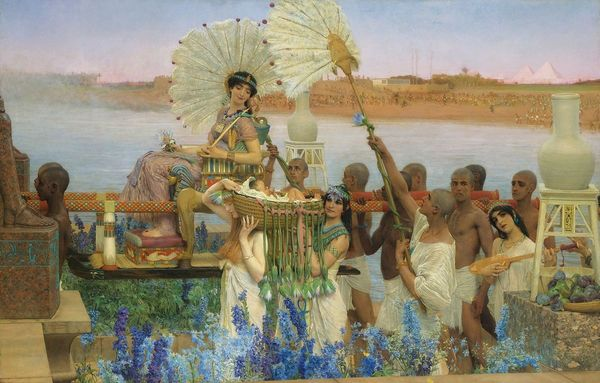 """'The Finding of Moses"""" 1904"""