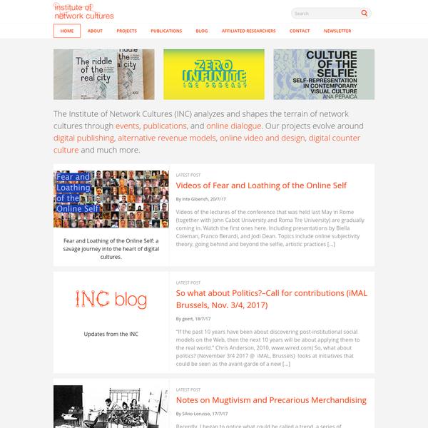 Institute of Network Cultures