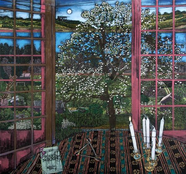 Jesper Christiansen,  Paradismaleri # XVII (Into our first world) (2014)