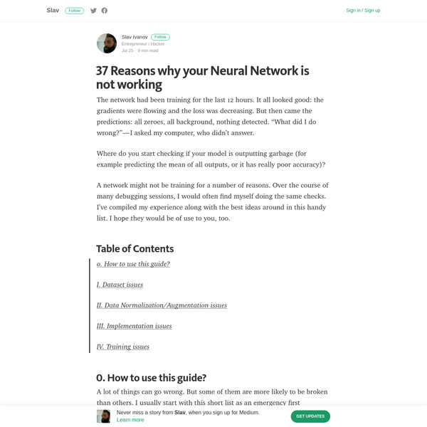 """The network had been training for the last 12 hours. It all looked good: the gradients were flowing and the loss was decreasing. But then came the predictions: all zeroes, all background, nothing detected. """"What did I do wrong?""""-I asked my computer, who didn't answer."""