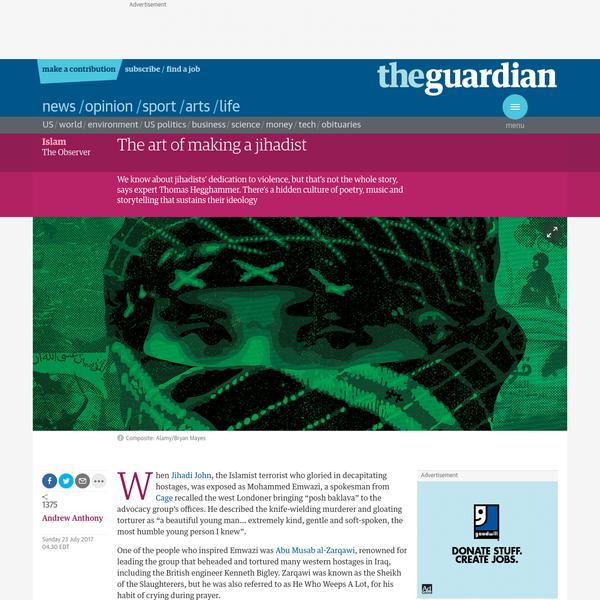 The art of making a jihadist
