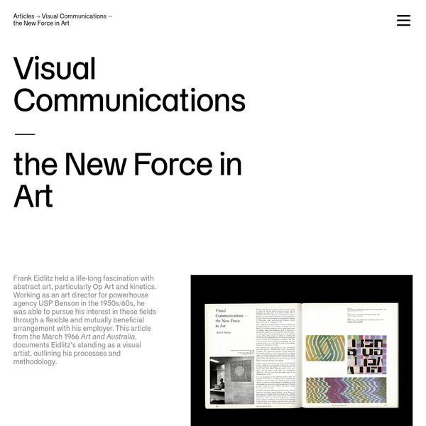 Re:collection | Visual Communications -