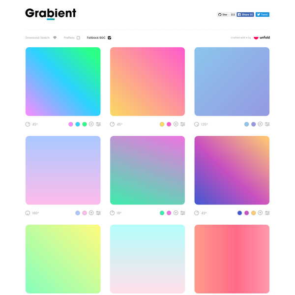 Grab yourself a gradient