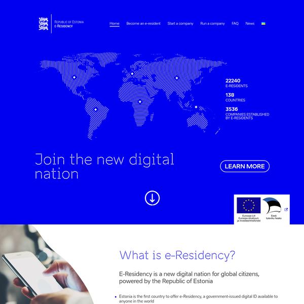 e-Residency - New Digital Nation