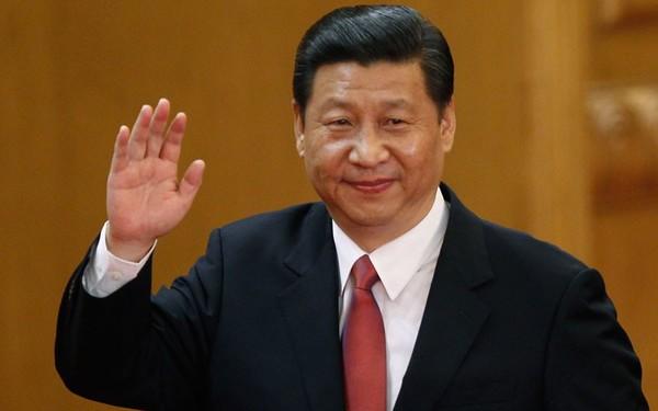 Xi Jinping's hand