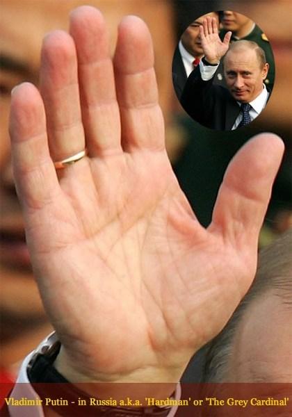 Putin's palm