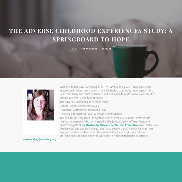 The Adverse Childhood Experiences (ACE) Study