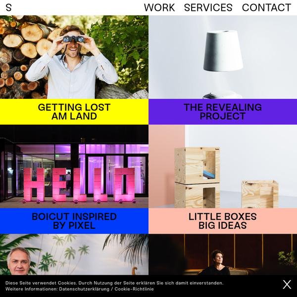 We Make Stories - Work