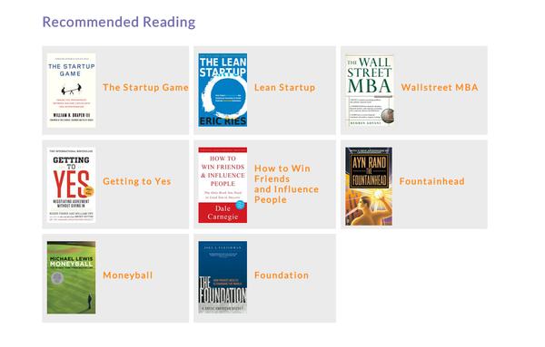 Recommended Reading for Entrepreneurs