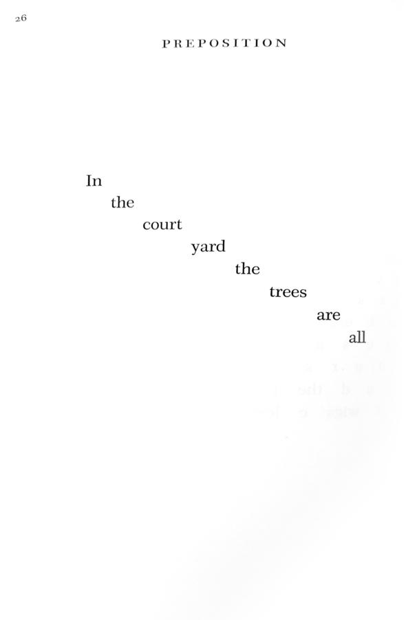 "Pritchard, N.H., ""Preposition"", _The Matrix_ (Garden City: Doubleday & Company, 1970), p. 26."
