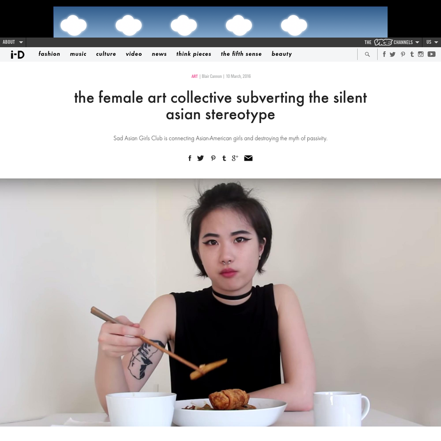 Sad Asian Girls Club is connecting Asian-American girls and destroying the myth of passivity.
