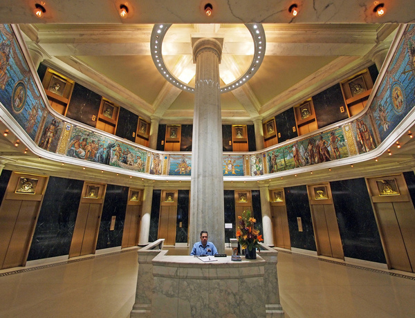 Lobby of the Marquette Building