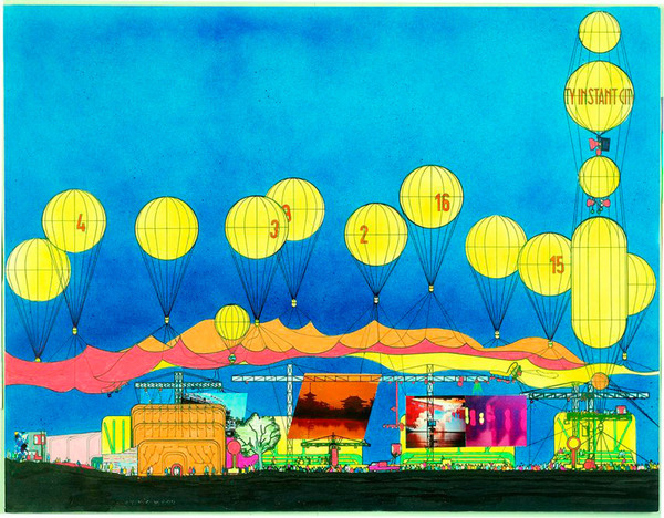 Instant City, Archigram