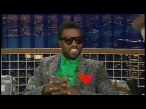 Kanye West interview with Conan O'Brien. Circa 2008