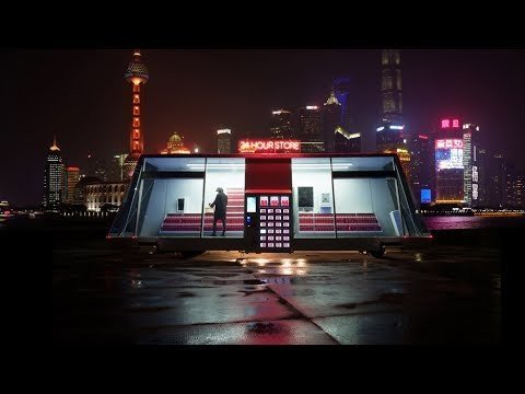 Retail startup Wheelys has designed a prototype self-driving supermarket that navigates to different locations throughout the day and uses artificially intelligent holograms to help customers. The vehicle is designed to be almost completely self sufficient, relying on software that tracks its inventory and alerts the Moby-Mart when it's time to restock.