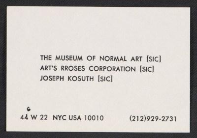 Joseph Kosuth