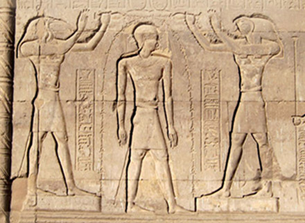 The central narrative in Egyptian mythology, Osiris' dismemberment and resurrection, is paralleled in shamanic initiation rituals. The Egyptian themes of the journey of the soul through the underworld and spiritual ascent through the stars can also be found in shamanic ritual. That Plato described a version of this stellar ascent too suggests a shared source.