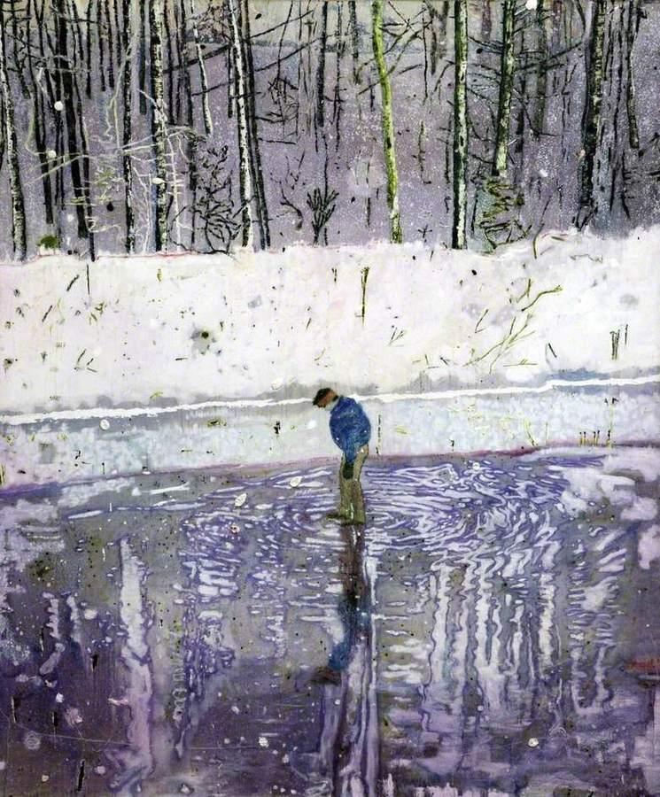 Peter Doig - Blotter (1993)