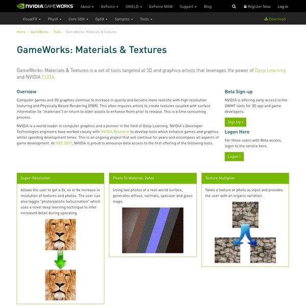 GameWorks: Materials & Textures