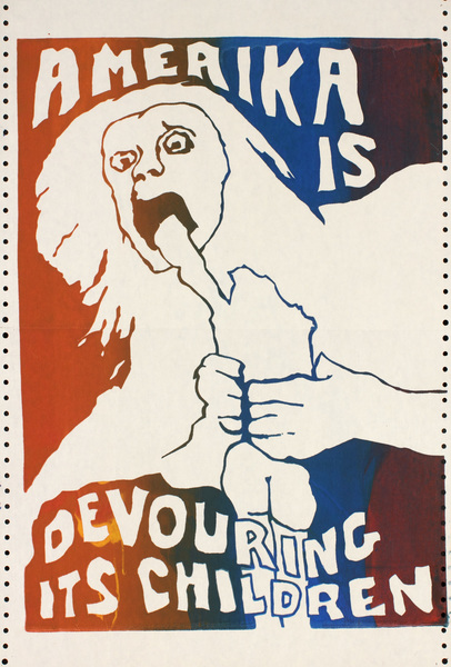 Jay Belloli, Amerika is Devouring its Children (1970)