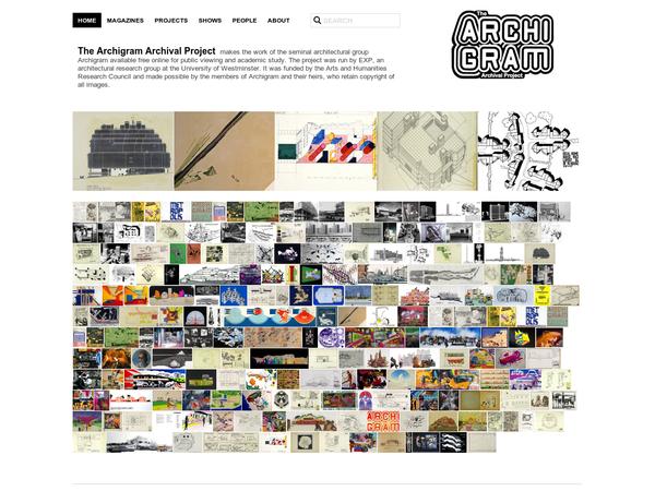 Archigram Digital archive