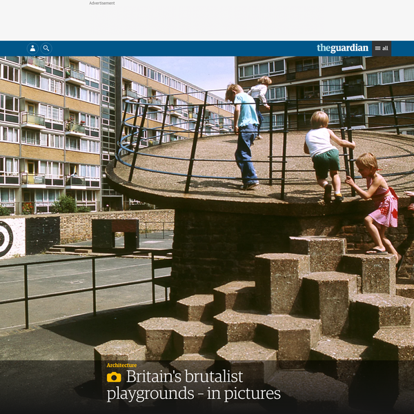 Britain's brutalist playgrounds - in pictures