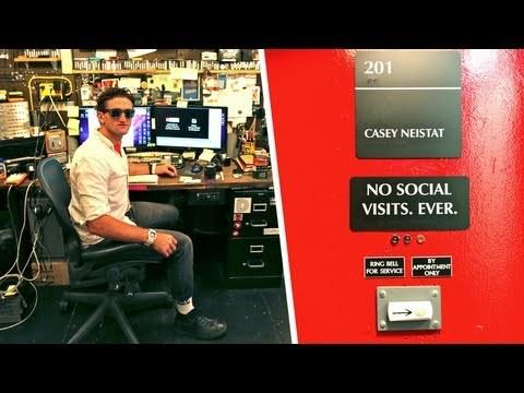 Casey Neistat's Wildly Functional Studio