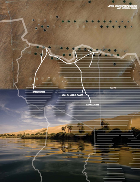 Manmade rivers of LIbya