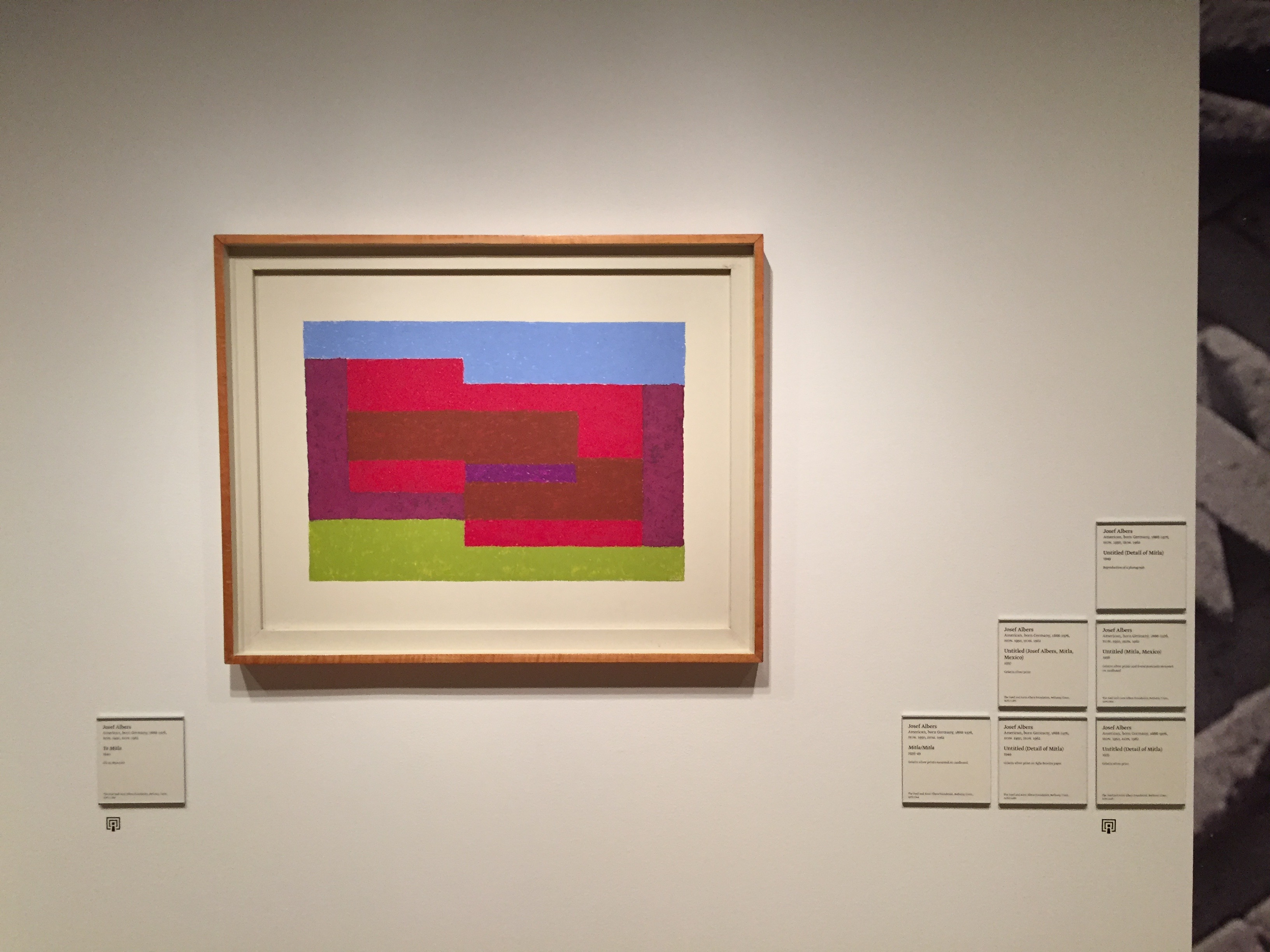 Yale University Art Gallery Small Great Objects Anni And Josef Albers In The Americas 2017