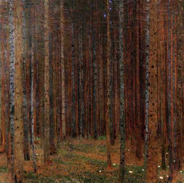 Gustav Klimt, Pine Forest