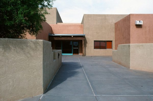 Michael Doody supervised by Robert Montoya,* The San Felipe Pueblo School, 1982, San Felipe Pueblo, New Mexico
