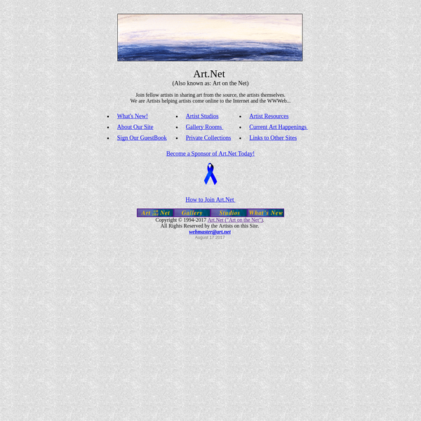 "Art.Net (also known as ""Art on the Net"")"