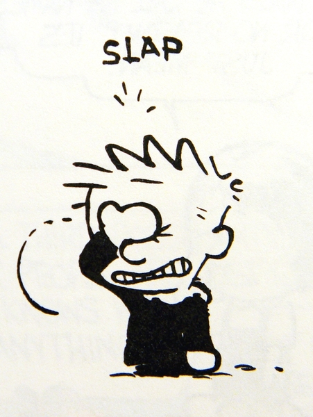 January 16, 1987 - Calvin's apologizing to Susie