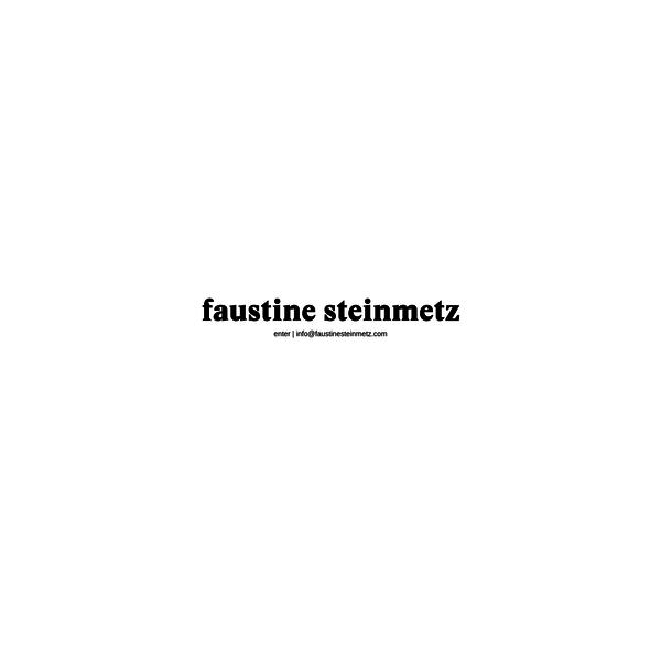 Faustine Steinmetz