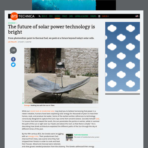 While our recent look at residential solar may lead you to believe harnessing that power is a newer initiative, humans have been exploiting solar energy for thousands of years to heat their homes, cook, and produce hot water. Some of the earliest written references to technology consciously designed to capture the Sun's rays come from ancient Greece.