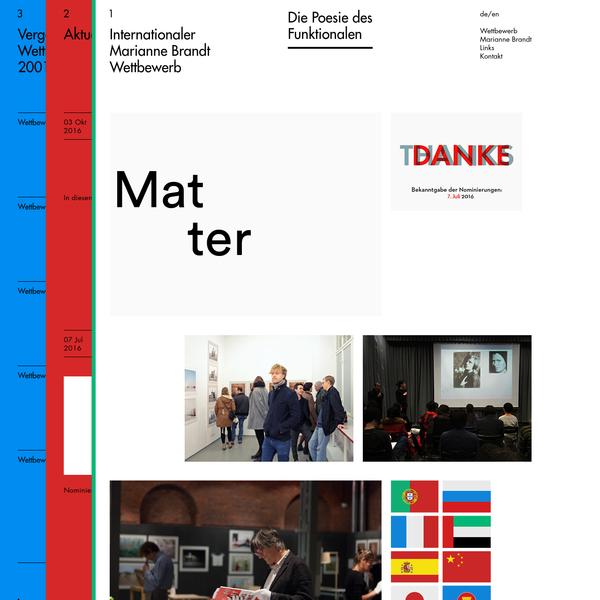 Home - Marianne Brandt Wettbewerb