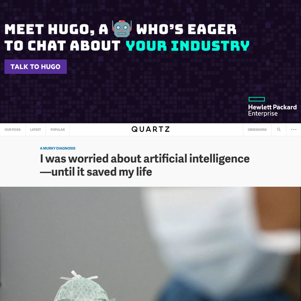 I was worried about artificial intelligence-until it saved my life