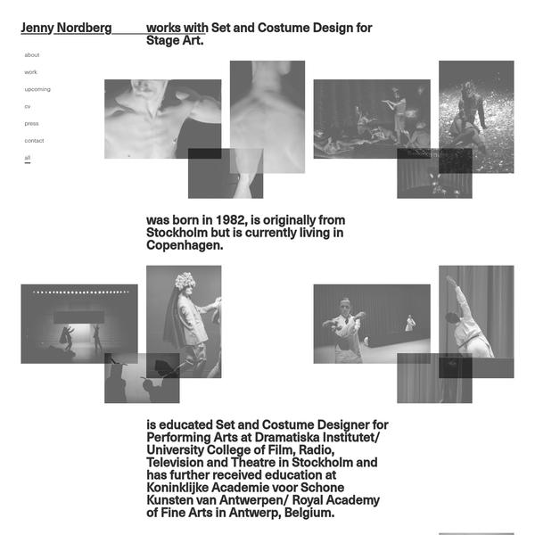 Frontpage | jenny-nordberg.com