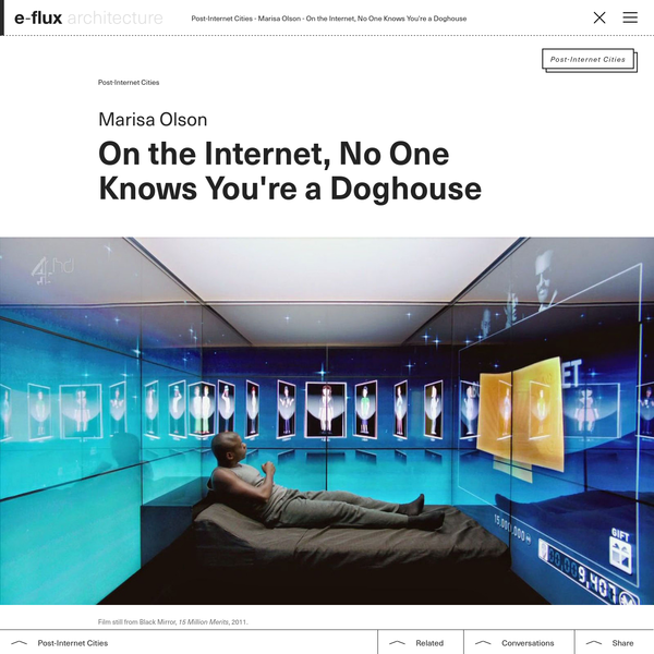 On the Internet, No One Knows You're a Doghouse