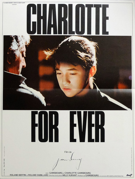 Charlotte for Ever movie poster (1986)
