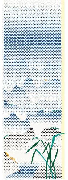 Roy Lichtenstein, Landscape with Grass, 1996