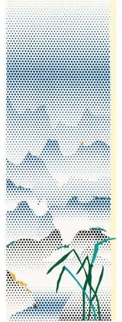 Roy Lichtenstein, Landscape with Grass, 1996