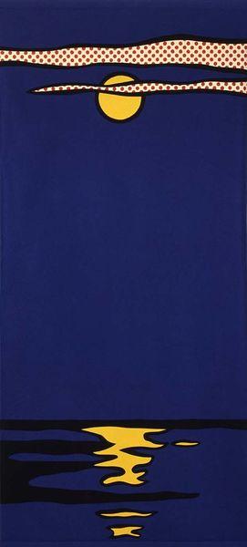 Roy Lichtenstein, Night Seascape