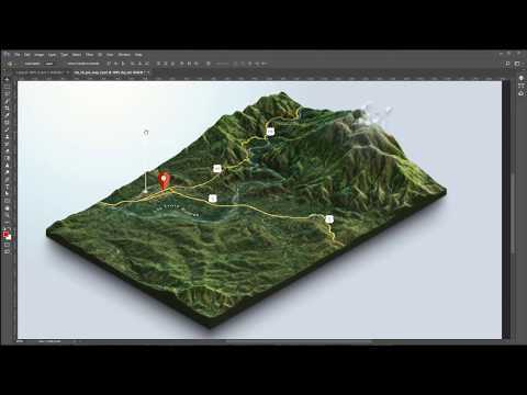 This video shows how to create a textured 3D Terrain map with the 3d-Map-Generator-Terrain from Heightmapper website and Google Maps. More info: http://www.3d-map-generator.com/3d-map-generator-terrain/