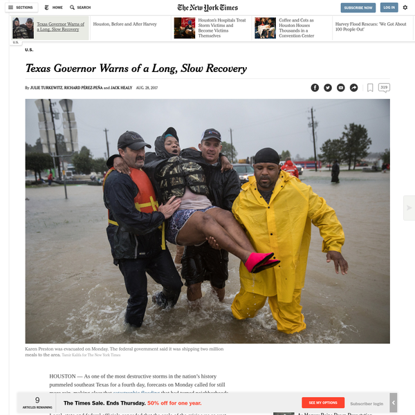 Texas Governor Warns of a Long, Slow Recovery
